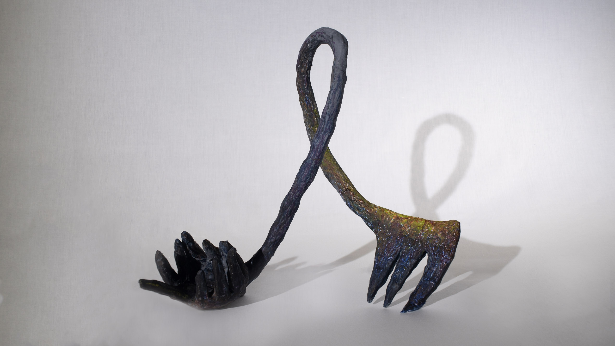 untitled fork and ladle sculpture