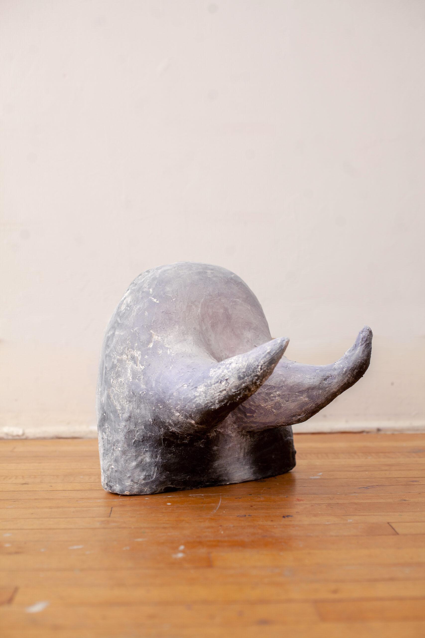 Horned Rock plaster sculpture