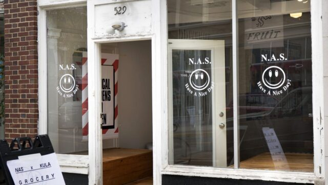 N.A.S. Grocery Storefront 529 Bangs Ave