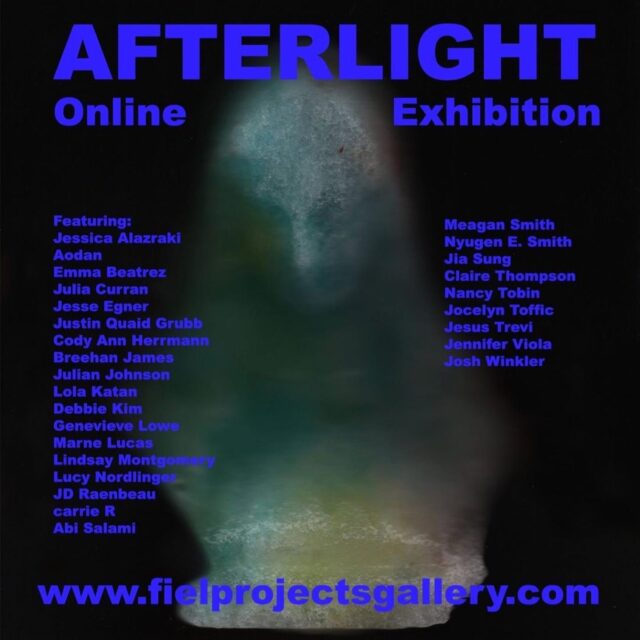 AFTERLIGHT Online Field Projects Gallery carrie R